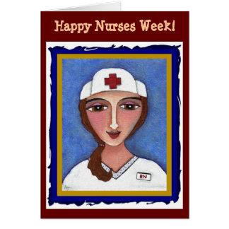 Brunette RN - Happy Nurses Week card (2)