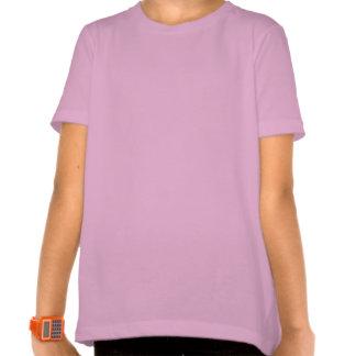 Brunette Rock Star Girl T-shirts