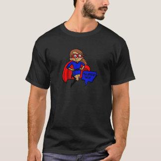 brunette super mom T-Shirt