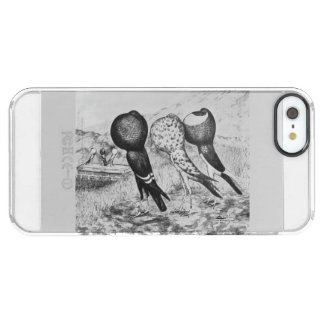 Brunner Pouter Pigeons Clear iPhone SE/5/5s Case