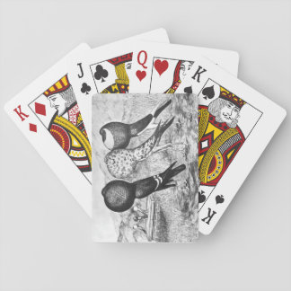 Brunner Pouter Pigeons Playing Cards