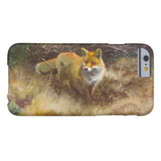 Bruno Liljefors - Fox and Landscape Barely There iPhone 6 Case