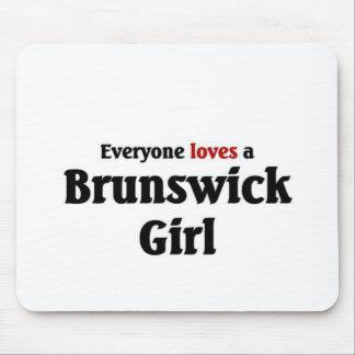 Brunswick Girl Mouse Pad
