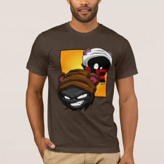 Brunzy and Grimz t-shirts