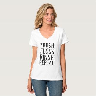 Brush, Floss, Rince, Repeat T-Shirt