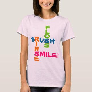 Brush Floss Rinse Smile T-Shirt