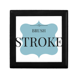 Brush Strokes Gift Box