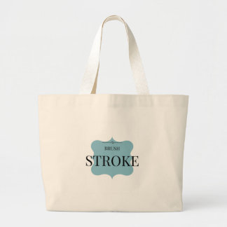 Brush Strokes Large Tote Bag