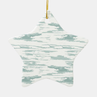 Brush strokes pattern 10 ceramic ornament