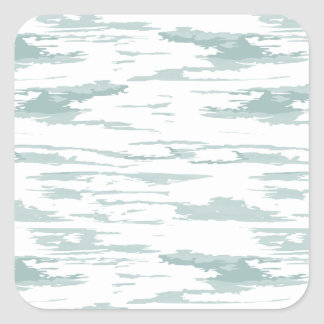 Brush strokes pattern 10 square sticker