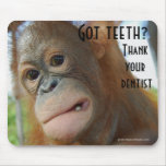 Brush Your Teeth Dentist Humour Mousemats