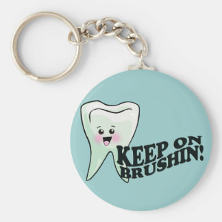 Brush Your Teeth! Key Ring