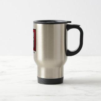 Brushed Aluminum look Baseball Coffee Mug