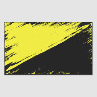 Brushed Anarcho-capitalism Flag Sticker