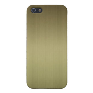 Brushed Brass Case For iPhone 5/5S