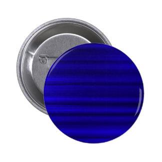Brushed Deep Blue 6 Cm Round Badge