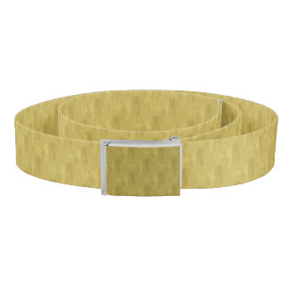 Brushed Gold Belt