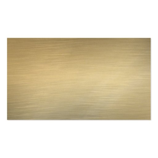 Brushed Gold Business Cards Business Card