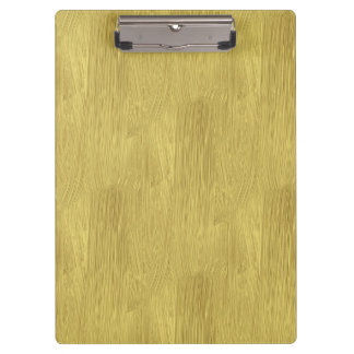 Brushed Gold Clipboards