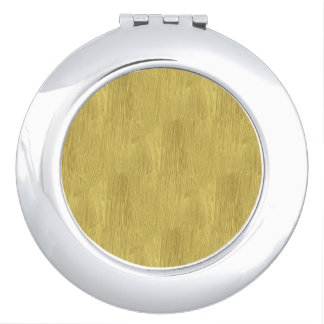 Brushed Gold Compact Mirrors