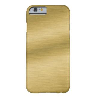 Brushed Gold Look Elegant iPhone 6 Case