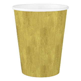 Brushed Gold Paper Cup