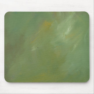 Brushed Green Faux Finish Mouse Pad