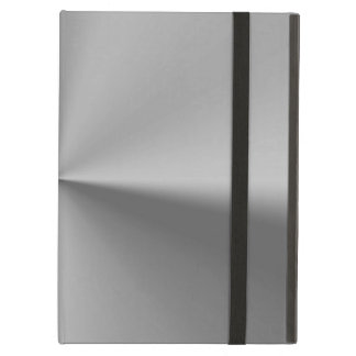 Brushed metal iPad air cover