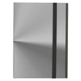 Brushed metal iPad air cover