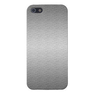 Brushed Metal iPhone 5/5S Cases