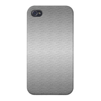 Brushed Metal iPhone 4/4S Case