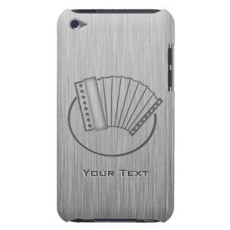 Brushed metal-look Accordion Barely There iPod Case