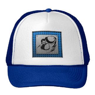 Brushed metal look Boxer Trucker Hat