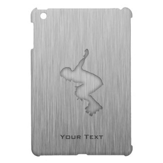 Brushed Metal-look Rollerblading Cover For The iPad Mini