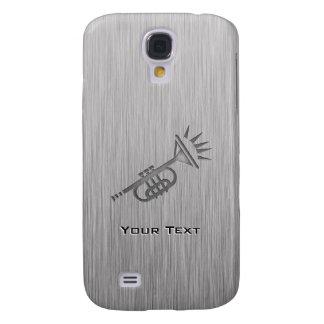 Brushed metal-look Trumpet Galaxy S4 Case