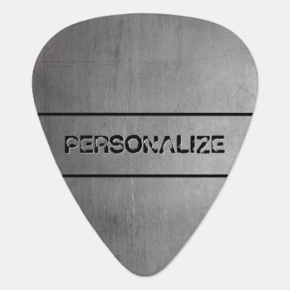 Brushed Metal Texture Plectrum