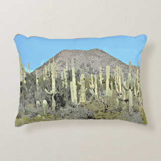 Brushed Polyester Accent Pillow - Tonto Saguaro