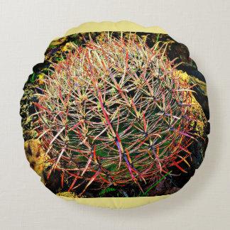 Brushed Polyester Barrel Cactus Pillow