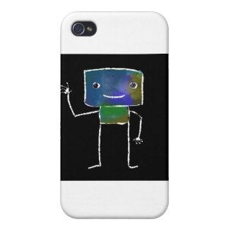Brushed Robots - Vol 1 Lunabot iPhone 4/4S Case