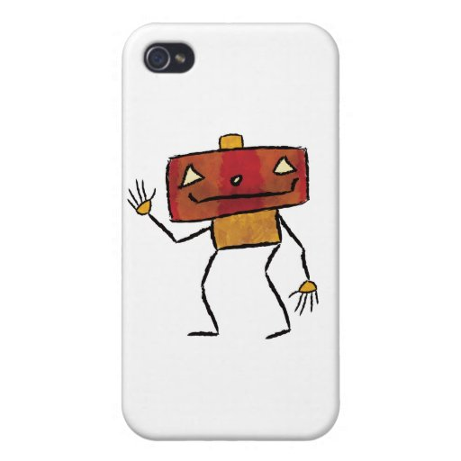 Brushed Robots - Vol 2: Jackbot Covers For iPhone 4