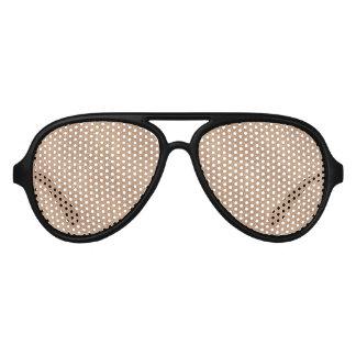 Brushed Rose Gold Aviator Sunglasses