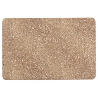 Brushed Rose Gold Floor Mat