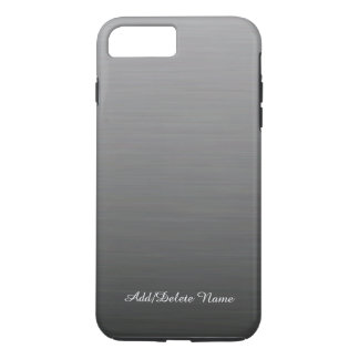Brushed Silver Design iPhone 7 Case
