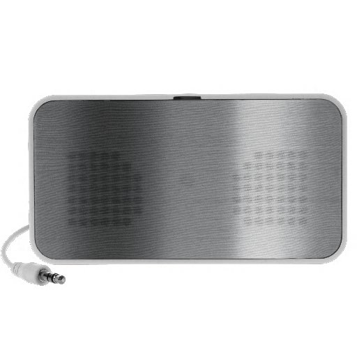 Brushed Stainless iPod Speaker