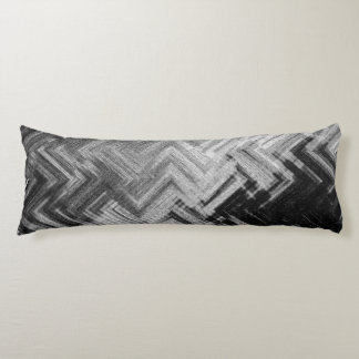 Brushed Steel Grade A Cotton Body Pillow