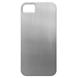 Brushed steel iPhone 5 covers