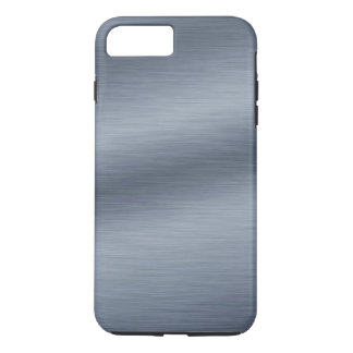 Brushed Steel Look Background iPhone 7 Plus Case