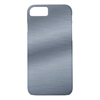 Brushed Steel Look Elegant iPhone 7 Case