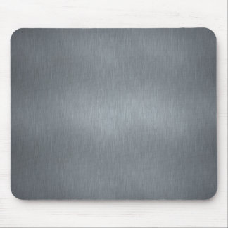 Brushed Steel Mouse Pad