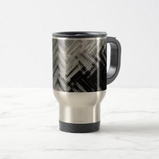 Brushed Steel Travel/Commuter Mug